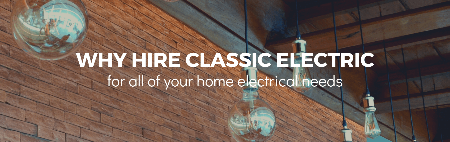 why hire classic electric for all of your oregon electrical needs