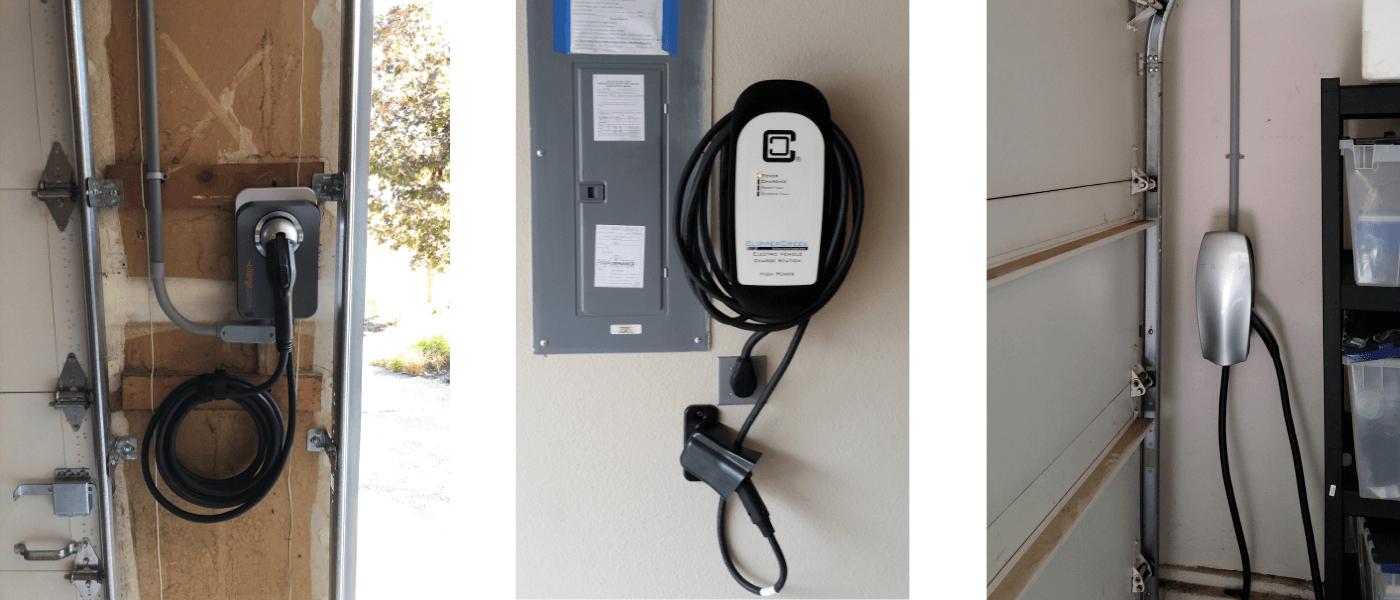 Electric vehicle chargers Sherwood Tigard Tualatin