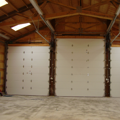 Garage and shop lighting with switches and receptacle outlets in Wilsonville by Classic Electric