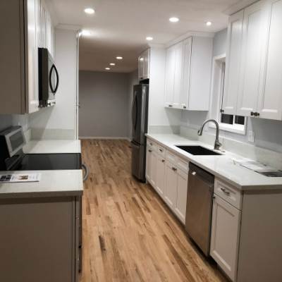 Kitchen remodel lighting and circuits for new appliances by Classic Electric in Beaverton