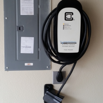 Electric vehicle charger in Tualatin by Classic Electric