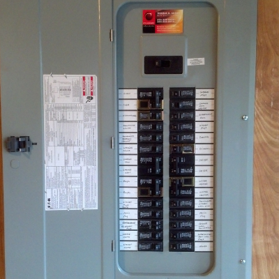 Electrical panel change in Newberg by Classic Electric