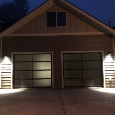 Outdoor garage lighting in Tualatin by Classic Electric